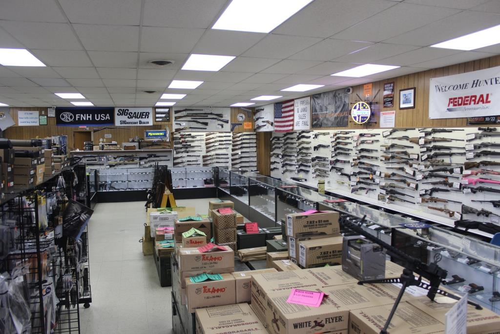 Inside Big Dog Outfitters